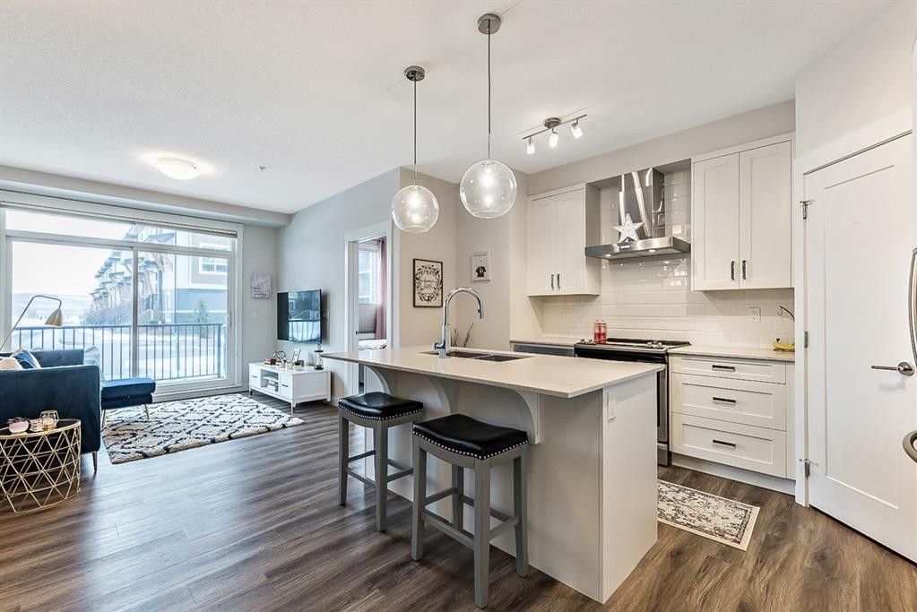 Main Photo: 110 30 Walgrove Walk SE in Calgary: Walden Apartment for sale : MLS®# A1063809