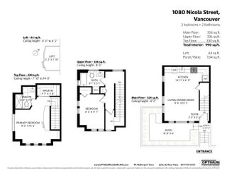 Photo 30: 1080 NICOLA STREET in Vancouver: West End VW Townhouse for sale (Vancouver West)  : MLS®# R2622492