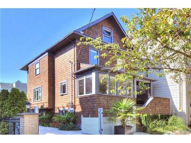 Main Photo: 2117 Yew Street in Vancouver: Kitsilano VW House for sale ()  : MLS®# V998847