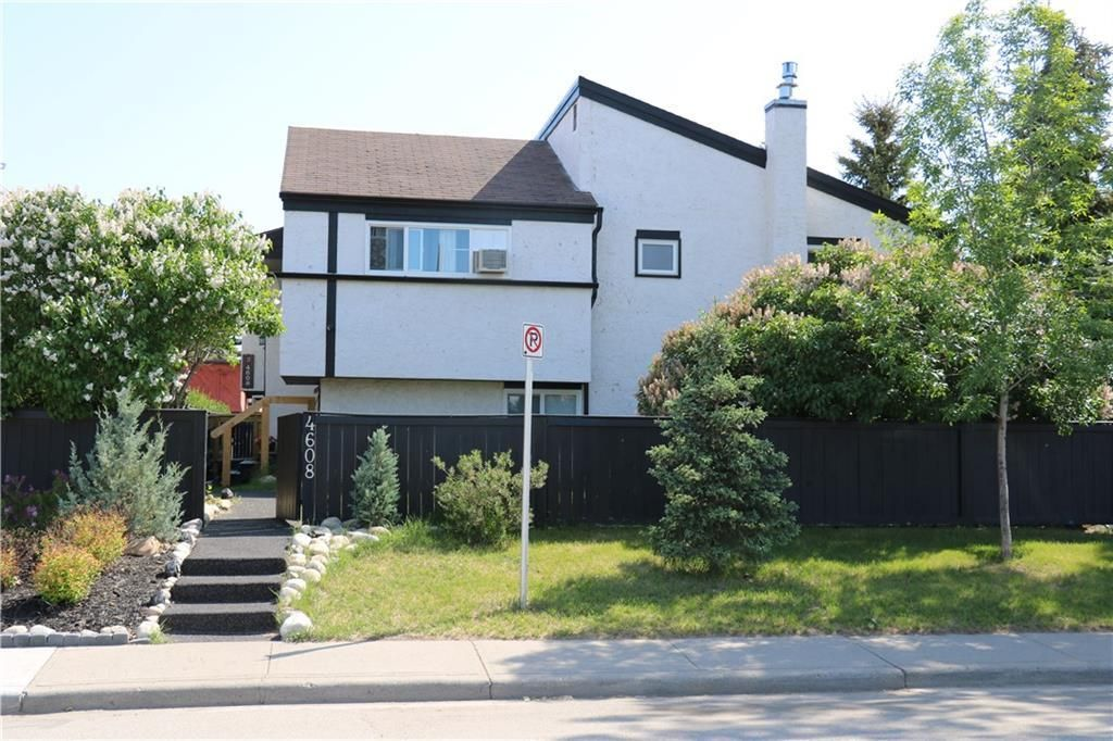 Main Photo: 6 4608 75 Street NW in Calgary: Bowness Row/Townhouse for sale : MLS®# C4290768
