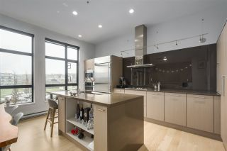 """Photo 2: 203 220 SALTER Street in New Westminster: Queensborough Condo for sale in """"Glasshouse Lofts"""" : MLS®# R2332600"""