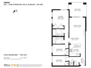 """Photo 40: 503 7488 BYRNEPARK Walk in Burnaby: South Slope Condo for sale in """"GREEN - AUTUMN"""" (Burnaby South)  : MLS®# R2505968"""