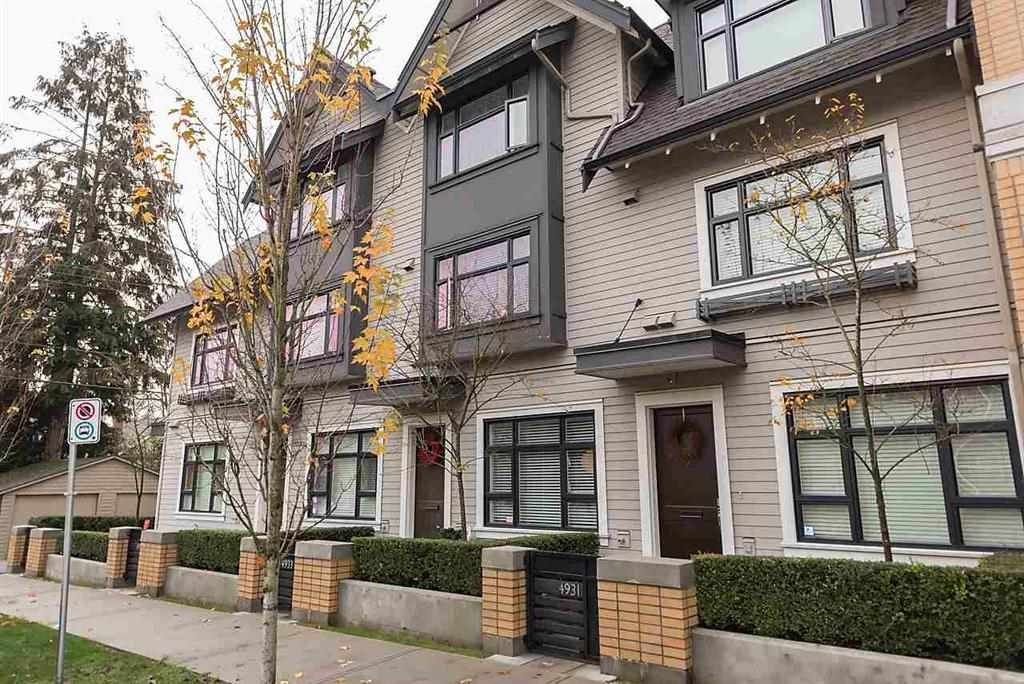 """Main Photo: 4933 MACKENZIE Street in Vancouver: MacKenzie Heights Townhouse for sale in """"MACKENZIE GREEN"""" (Vancouver West)  : MLS®# R2126903"""