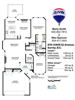 "Photo 18: 75 14909 32 Avenue in Surrey: King George Corridor Townhouse for sale in ""Ponderosa"" (South Surrey White Rock)  : MLS®# R2127199"