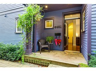 Photo 1: 4461 WELWYN ST in Vancouver: Victoria VE Condo for sale (Vancouver East)  : MLS®# V1091780