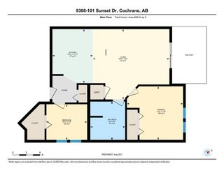 Photo 31: 9308 101 Sunset Drive: Cochrane Apartment for sale : MLS®# A1141889