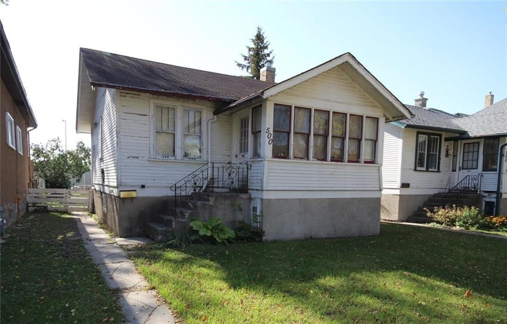 Main Photo: 500 Cathedral Avenue in Winnipeg: North End Residential for sale (4C)  : MLS®# 202124225