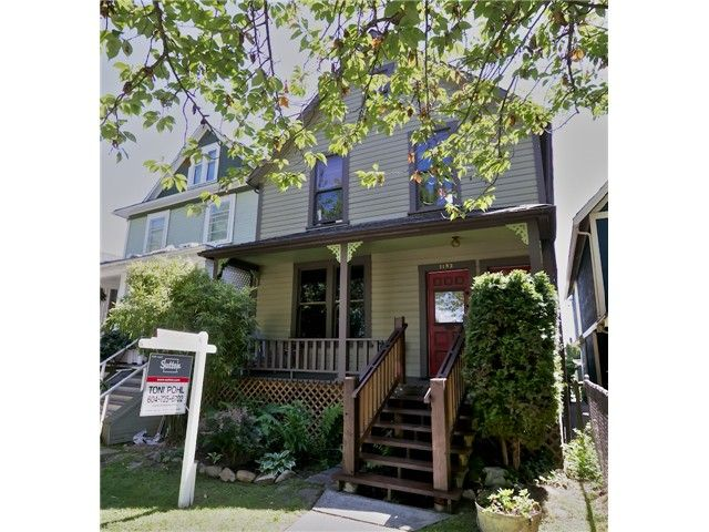 Main Photo: 1152 E GEORGIA Street in Vancouver: Mount Pleasant VE House for sale (Vancouver East)  : MLS®# V1067904