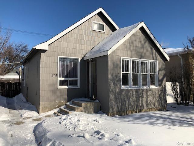 FEATURED LISTING: 263 Belmont Avenue Winnipeg