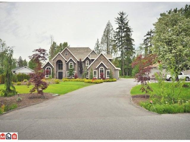 """Main Photo: 23157 80TH Avenue in Langley: Fort Langley House for sale in """"CASTLE HILL/FOREST KNOLLS"""" : MLS®# F1014538"""