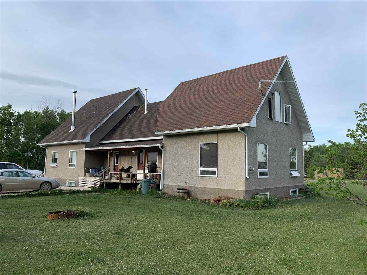Main Photo: 27110 TWP RD 583: Rural Westlock County House for sale : MLS®# E4213745