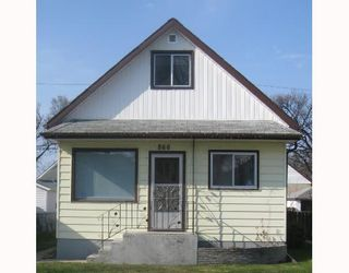 Photo 1: 866 ALFRED Avenue in WINNIPEG: North End Residential for sale (North West Winnipeg)  : MLS®# 2808279