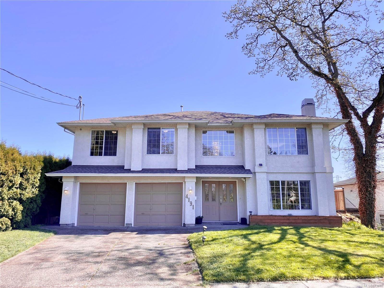 Main Photo: 4191 Quadra St in : SE Lake Hill House for sale (Saanich East)  : MLS®# 873416