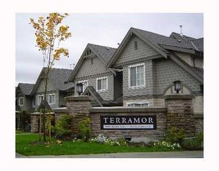 """Photo 1: 82 9088 HALSTON Court in Burnaby: Government Road Townhouse for sale in """"TERRAMOR"""" (Burnaby North)  : MLS®# V962048"""
