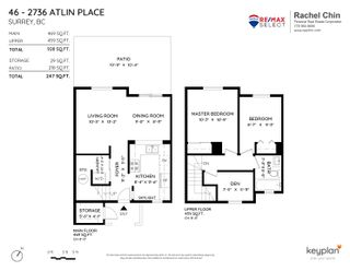 """Photo 21: 46 2736 ATLIN Place in Coquitlam: Coquitlam East Townhouse for sale in """"CEDAR GREEN ESTATES"""" : MLS®# R2619676"""