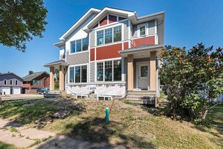 Photo 1: 12141 42 Street in Edmonton: Zone 23 House Half Duplex for sale : MLS®# E4253138