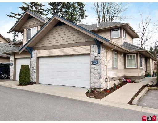 Main Photo: 29 8888 151 Street in Surrey: Townhouse for sale : MLS®# F2810670
