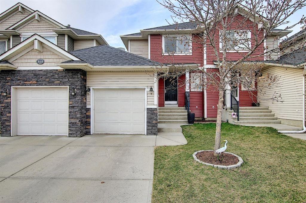 Main Photo: 507 CRANSTON Drive SE in Calgary: Cranston Semi Detached for sale : MLS®# A1096258