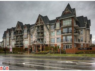 "Photo 1: 211 17769 57TH Avenue in Surrey: Cloverdale BC Condo for sale in ""Cloverdowns Estates"" (Cloverdale)  : MLS®# F1201012"