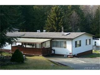 Photo 1: C17 920 Whittaker Rd in MALAHAT: ML Malahat Proper Manufactured Home for sale (Malahat & Area)  : MLS®# 463977