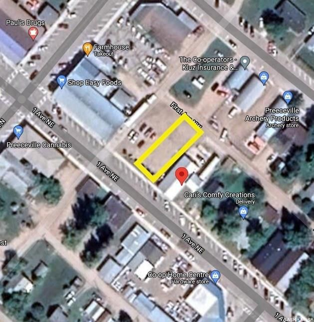Main Photo: 22 1st Avenue Northeast in Preeceville: Commercial for sale : MLS®# SK851729
