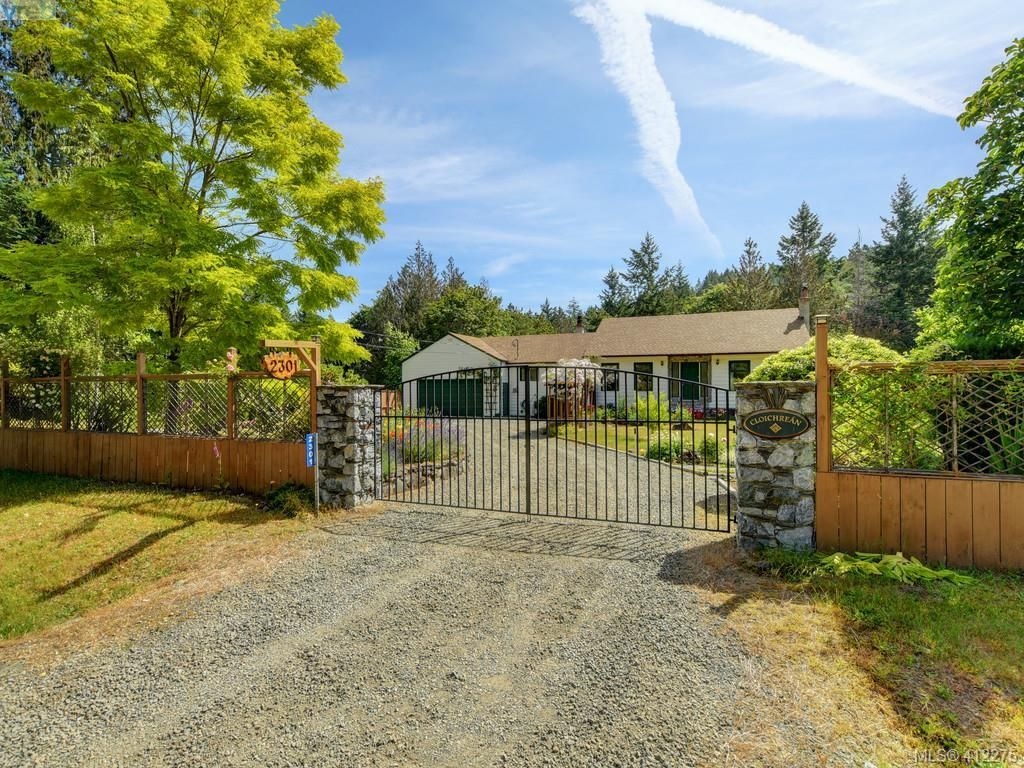 Main Photo: 2301 Stowood Rd in SHAWNIGAN LAKE: ML Shawnigan House for sale (Malahat & Area)  : MLS®# 817484