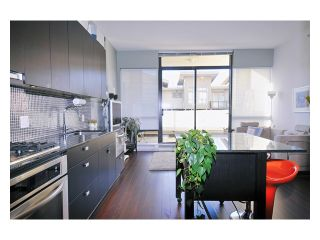 """Photo 1: 211 121 BREW Street in Port Moody: Port Moody Centre Condo for sale in """"ROOM AT SUTER BROOK"""" : MLS®# V861924"""