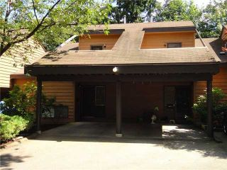 Photo 1: 232 CORNELL WY in Port Moody: College Park PM Townhouse for sale ()  : MLS®# V985165