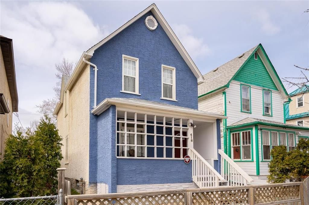 Main Photo: 418 McGee Street in Winnipeg: West End Residential for sale (5A)  : MLS®# 202109645