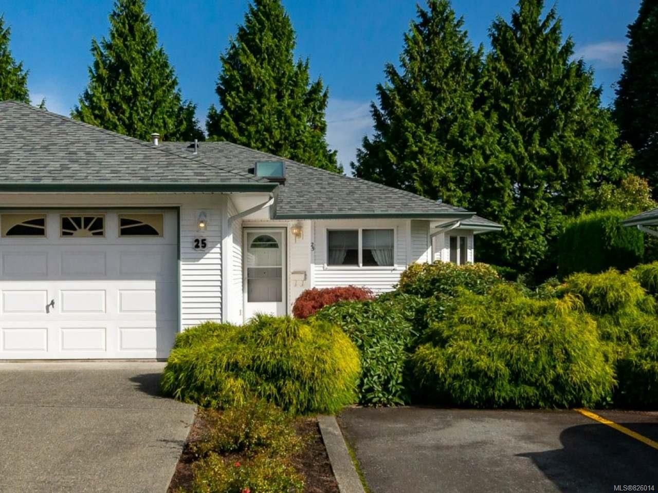Main Photo: 25 396 Harrogate Rd in CAMPBELL RIVER: CR Willow Point Row/Townhouse for sale (Campbell River)  : MLS®# 826014