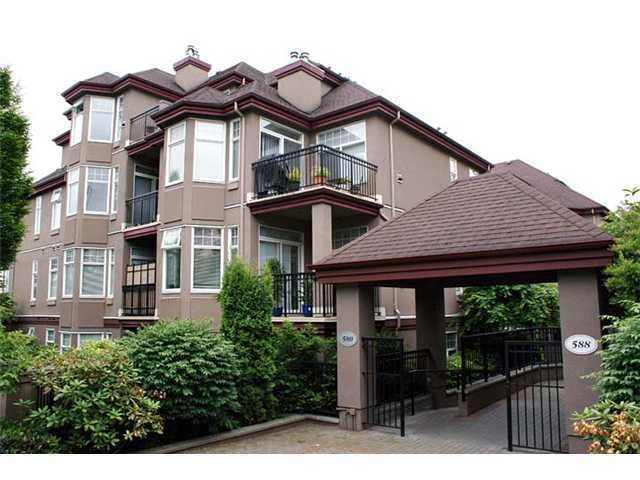 "Main Photo: 203 580 12TH Street in New Westminster: Uptown NW Condo for sale in ""THE REGENCY"" : MLS®# V865161"