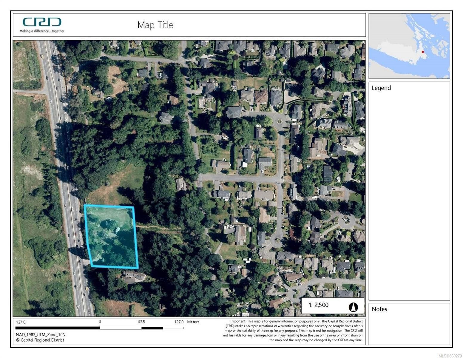 Main Photo: 5075 Pat Bay Hwy in : SE Cordova Bay Land for sale (Saanich East)  : MLS®# 869270