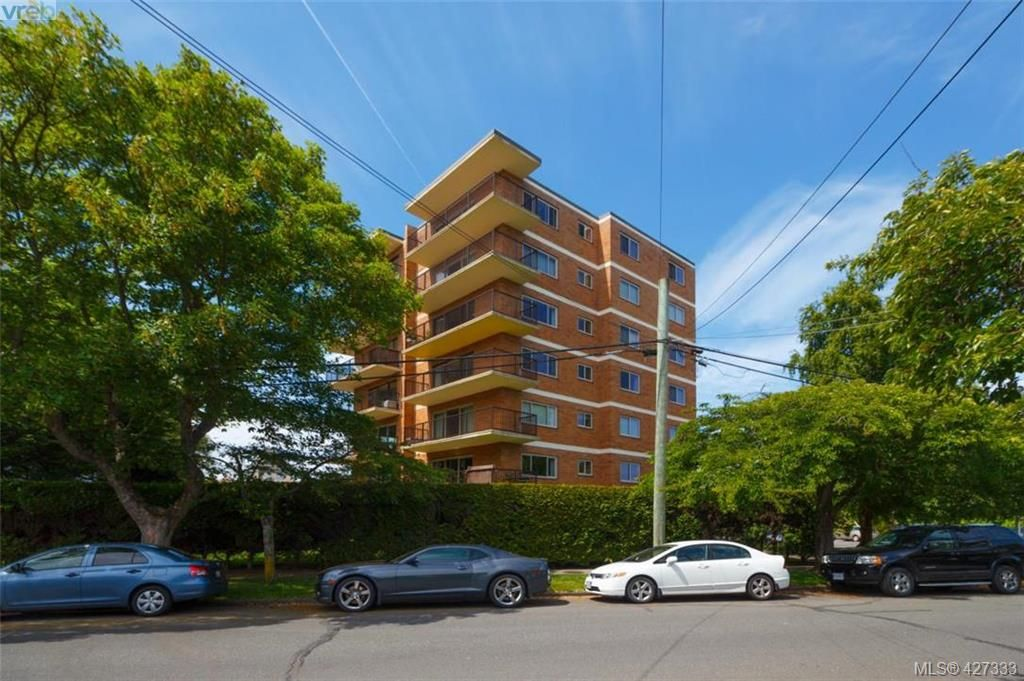 Main Photo: 101 36 South Turner St in VICTORIA: Vi James Bay Condo for sale (Victoria)  : MLS®# 841811