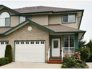 "Photo 1: 25 11358 COTTONWOOD Drive in Maple Ridge: Cottonwood MR Townhouse for sale in ""CARRIAGE LANE"" : MLS®# V816214"