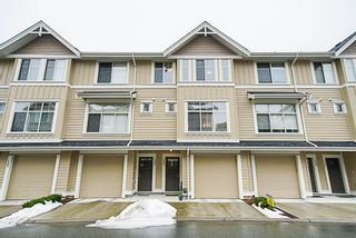 "Photo 1: 135 19525 73 Avenue in Surrey: Clayton Townhouse for sale in ""Uptown 2"" (Cloverdale)  : MLS®# R2341960"