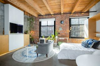 """Photo 9: 219 55 E CORDOVA Street in Vancouver: Downtown VE Condo for sale in """"KORET LOFTS"""" (Vancouver East)  : MLS®# R2560777"""