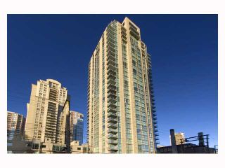 """Photo 1: 1402 928 RICHARDS Street in Vancouver: Downtown VW Condo for sale in """"THE SAVOY"""" (Vancouver West)  : MLS®# V826168"""