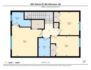 Photo 40: 5061 STANTON Drive in Edmonton: Zone 53 House Half Duplex for sale : MLS®# E4250315