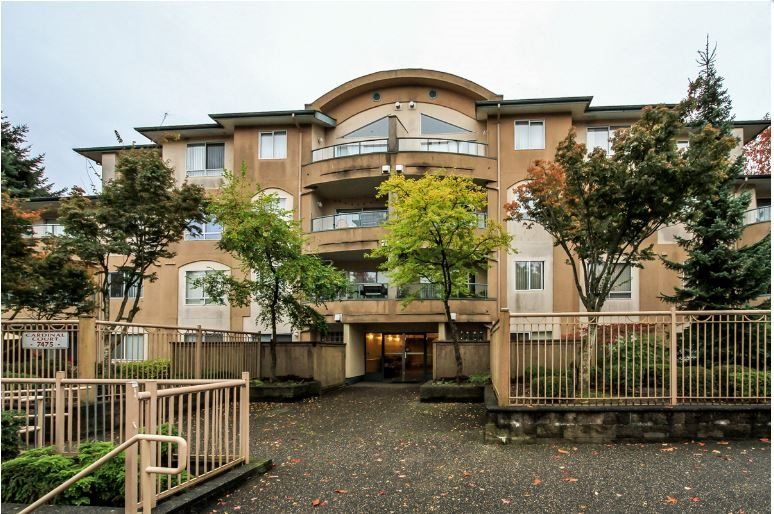 """Main Photo: 302 7475 138 Street in Surrey: East Newton Condo for sale in """"CARDINAL COURT"""" : MLS®# R2154698"""