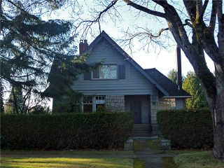 """Photo 1: 5087 CONNAUGHT DR in Vancouver: Shaughnessy House for sale in """"Shaughnessy"""" (Vancouver West)  : MLS®# V1038064"""