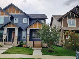 Photo 1: 179 HAWKS RIDGE Boulevard in Edmonton: Zone 59 House Half Duplex for sale : MLS®# E4261420