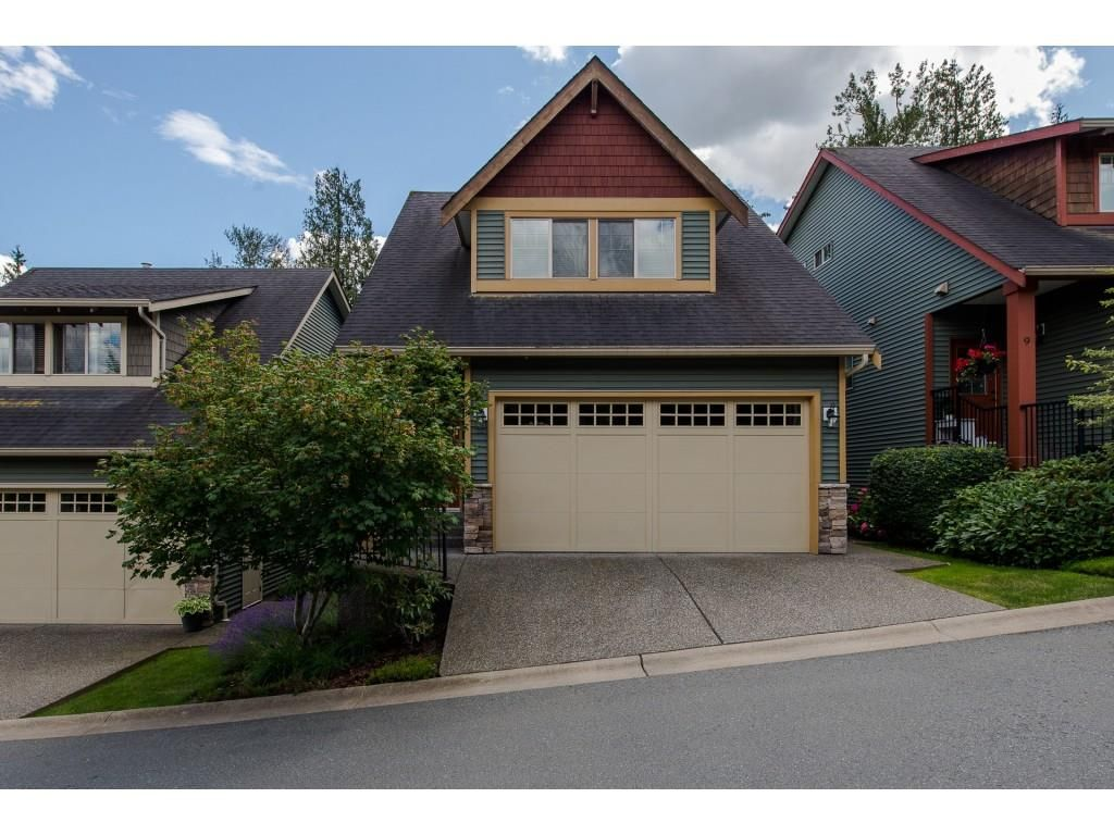 """Main Photo: 8 36169 LOWER SUMAS MTN Road in Abbotsford: Abbotsford East Townhouse for sale in """"Junction Creek"""" : MLS®# R2283767"""