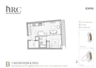 Photo 14: 412 89 NELSON Street in Vancouver: Yaletown Condo for sale (Vancouver West)  : MLS®# R2589530