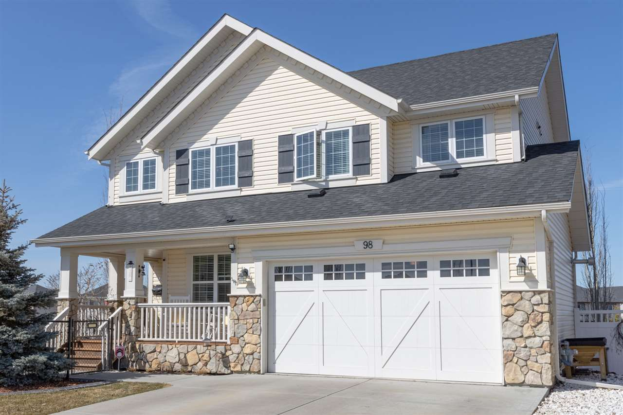 Main Photo: 98 Pointe Marcelle: Beaumont House for sale : MLS®# E4238573