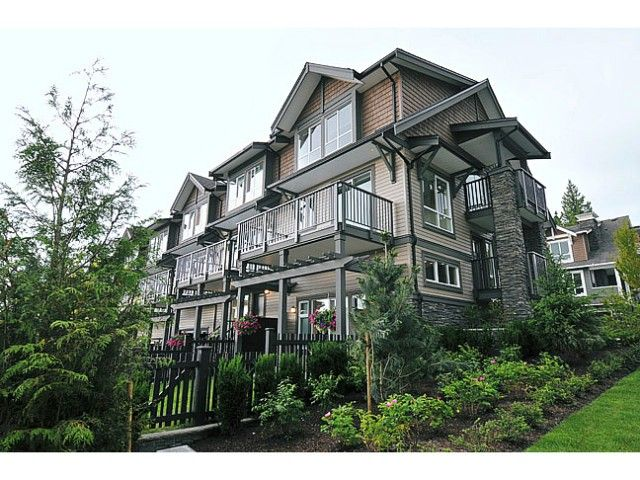 """Main Photo: 119 1480 SOUTHVIEW Street in Coquitlam: Burke Mountain Townhouse for sale in """"CEDAR CREEK"""" : MLS®# V1045909"""