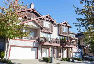 Photo 1: 32 15 FOREST PARK Way in Port Moody: Heritage Woods PM Townhouse for sale : MLS®# R2209452