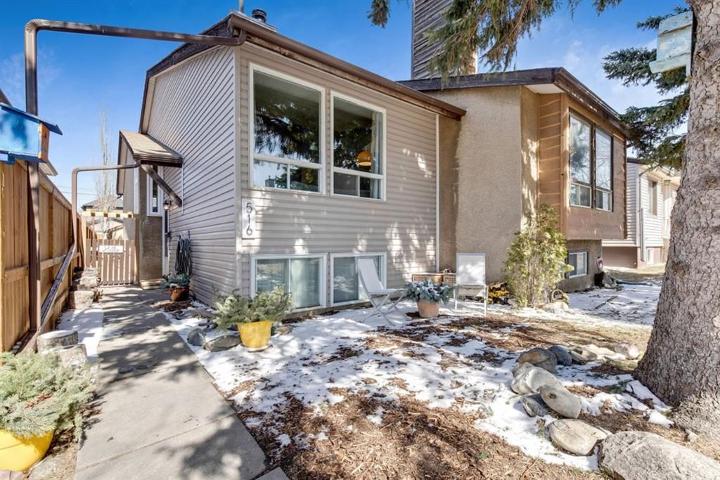 Main Photo: 516 21 Avenue NE in Calgary: Winston Heights/Mountview Semi Detached for sale : MLS®# A1088359
