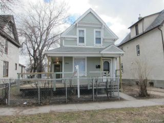 Photo 1: 286 Pritchard Avenue in WINNIPEG: North End Residential for sale (North West Winnipeg)  : MLS®# 1408771