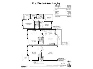"""Photo 40: 15 20449 66 Avenue in Langley: Willoughby Heights Townhouse for sale in """"Nature's Landing"""" : MLS®# R2547952"""