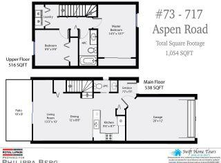 Photo 3: 73 717 ASPEN ROAD in COMOX: CV Comox (Town of) Row/Townhouse for sale (Comox Valley)  : MLS®# 811391